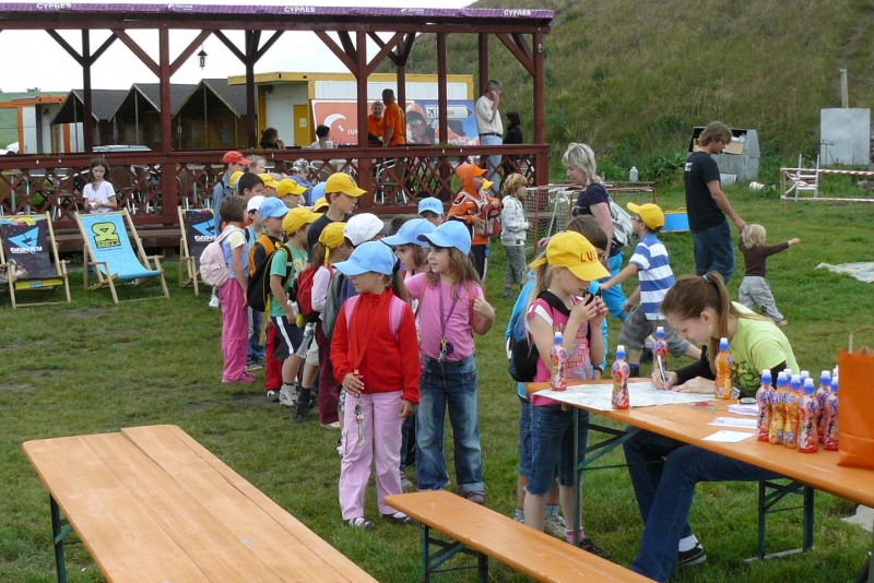 Child day at the airport in Prostějov